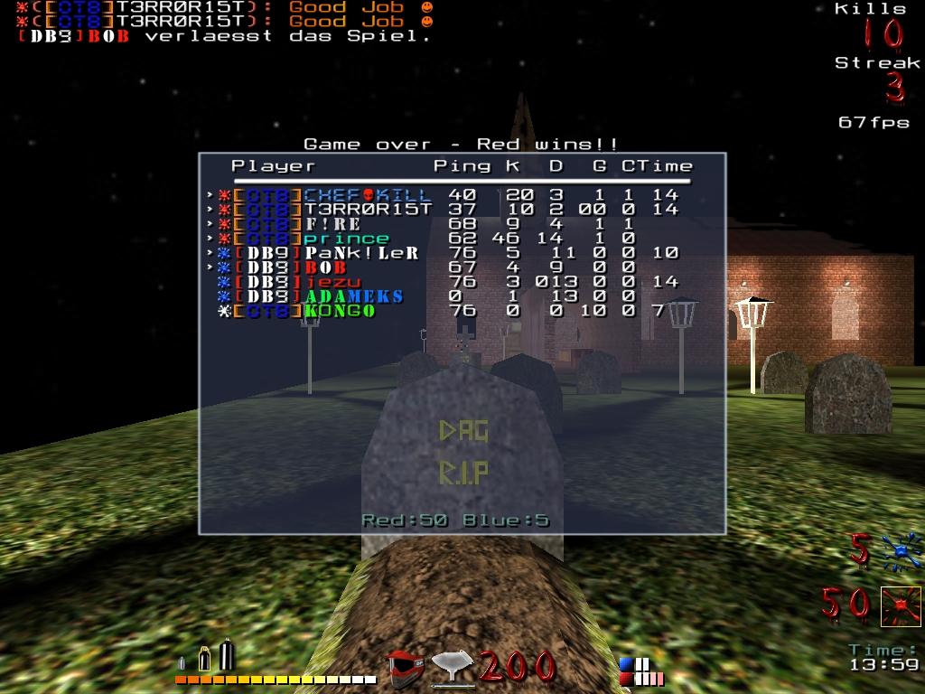 5vs5 gegen DB9: Map 1