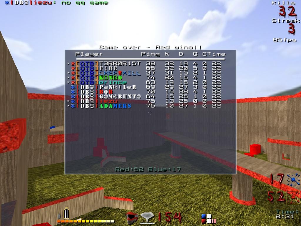 5vs5 gegen DB9: Map 2