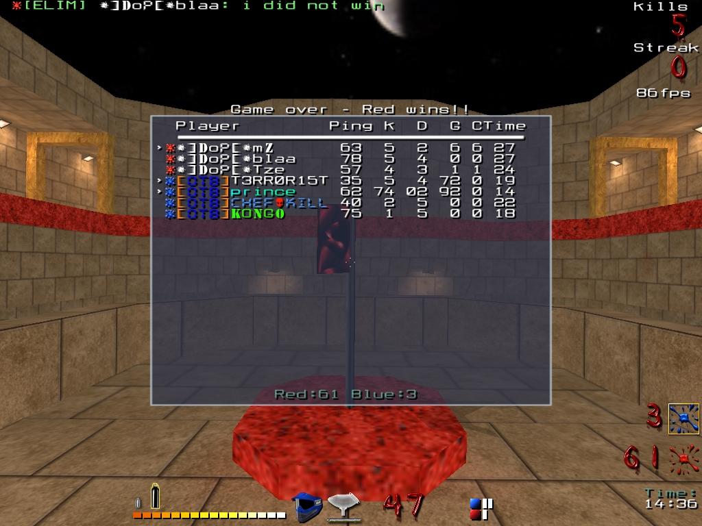 4vs4 gegen DoP: Map 2